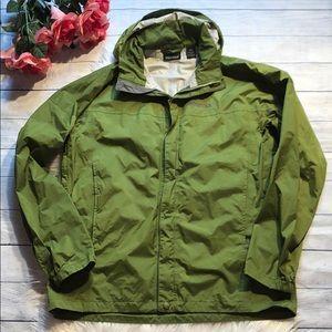 Men's Marmot Green PreCip Hooded Rain Jacket